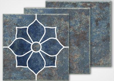 AZ-906 DECO – AZUL BLUE 6X6 CUT