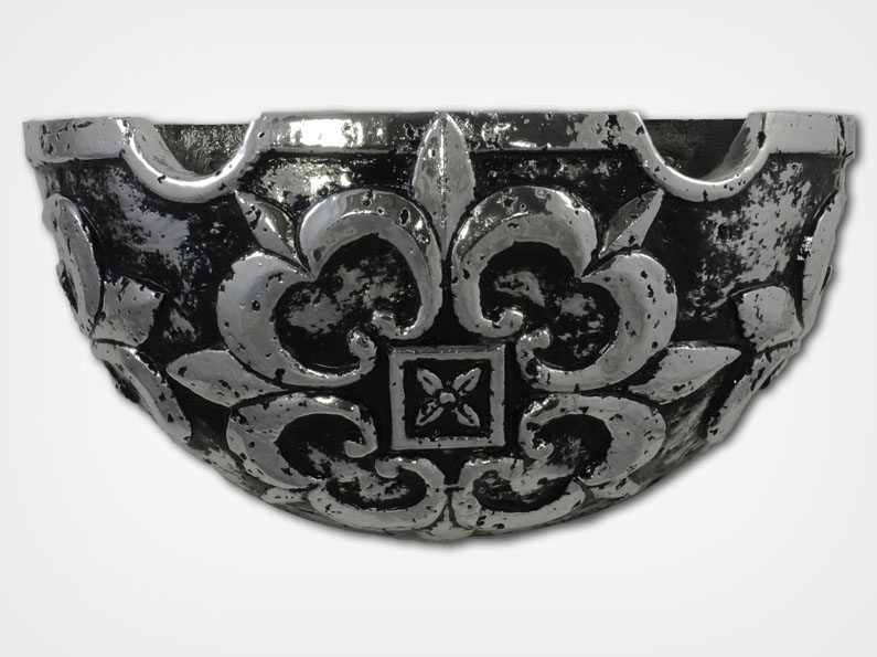 Gothic Sconce-Silver