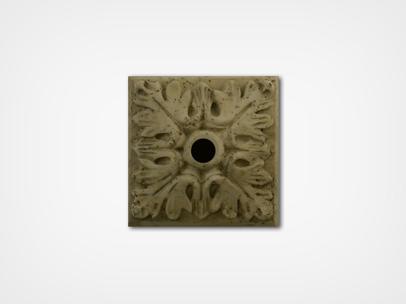 Medallion-Travertine