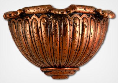 Scalloped Sconce-Bronze