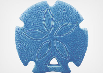 Sand Dollar – Blue – 5×5