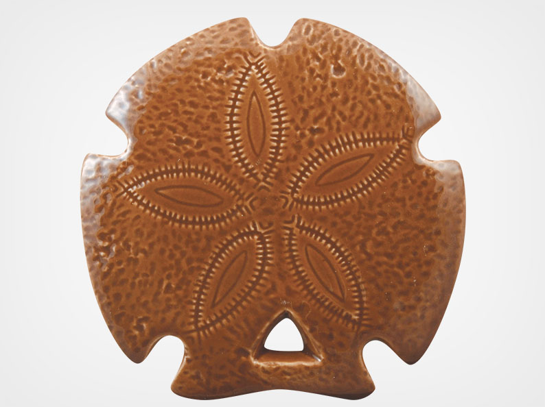 Sand Dollar – Brown – 5×5