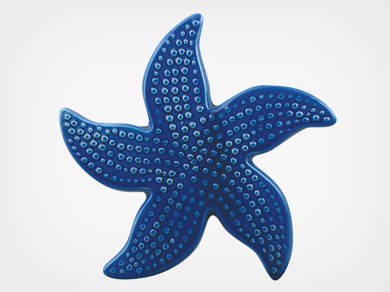 Starfish Spotted – Royal Blue – 5×5