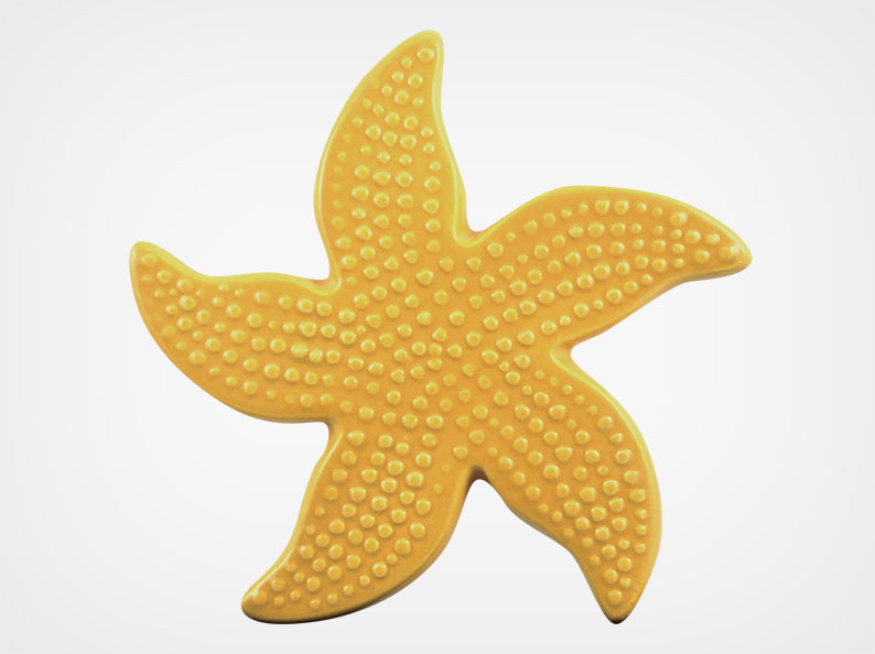 Starfish Spotted – Sand – 5×5