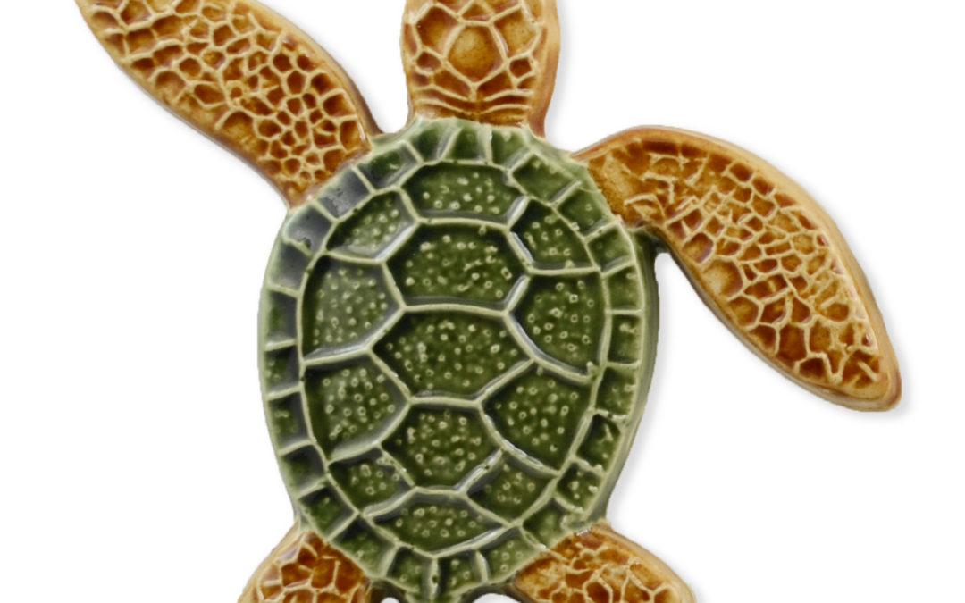 Turtle Left Up – Multi – 5×5