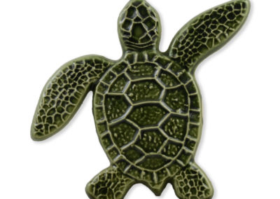 Turtle Right Up – Green – 5×5