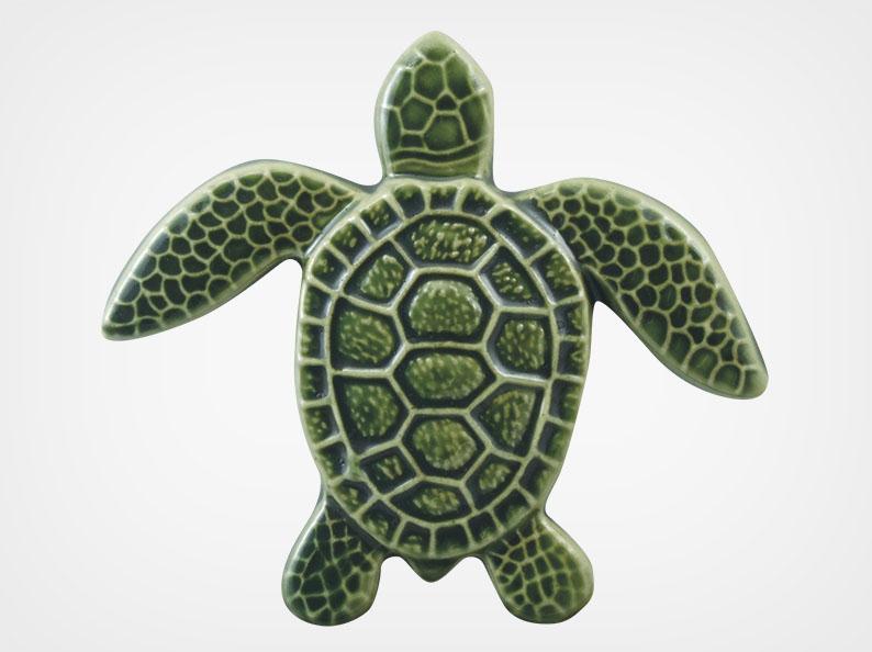 Turtle Straight – Green – 5×5