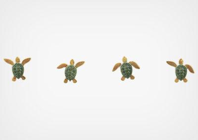 Turtle – Step Marker – Multi Color – 24×3
